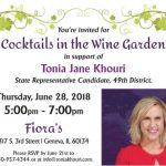 Tonia Khouri Meet and Greet Fiora's Geneva IL