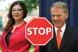 Stop Karina Villa and Michael Madigan