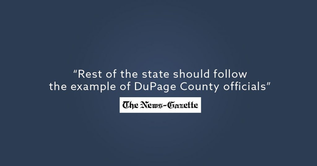 Follow the Example of DuPage