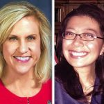 Illinois 49th district candidates Tonia Khouri and Karina Villa