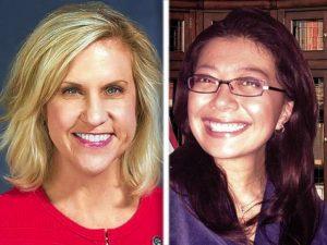 Illinois 49th district candidates Tonia Khouri and Karina Villa