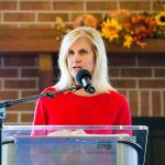Tonia Khouri received the 'Friend of Tourism' awarded from the DuPage County Convention and Visitors Bureau