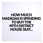How Much Madigan is Spending to Buy the 49th District